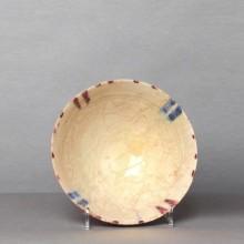 Coupe en céramique blanche de Bamiyan