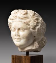 Tête de jeune Apollon