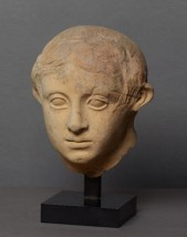 Votive head of a child