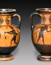 Pair of amphoras