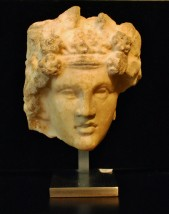 Head of young Dionysos